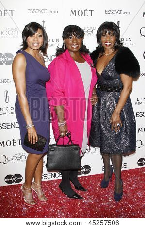 LOS ANGELES - MAR 4: Taraji P. Henson, LaTanya Richardson, Pauletta Washington at the 3rd annual Essence Black Women in Hollywood Lunch, Beverly Hills Hotel in Beverly Hills, California, March 4, 2010