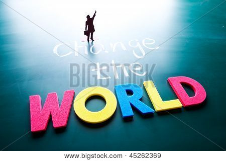 Change The World Concept
