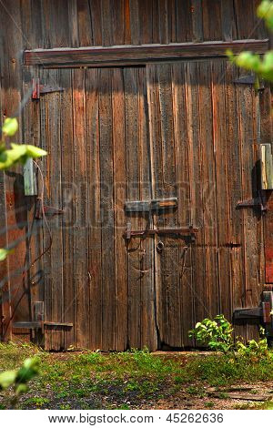Closed Barn Doors