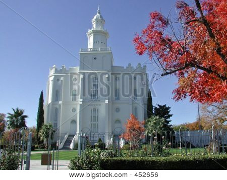 Lds Temple In St. George