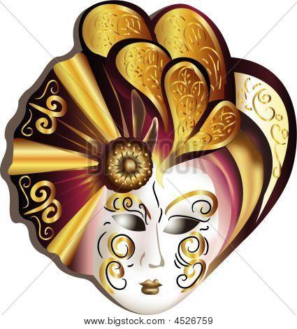 Venetian Mask Vector
