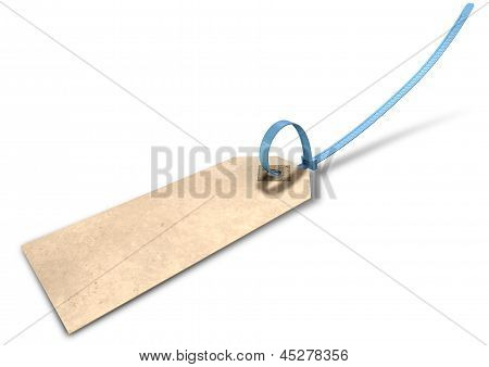Paper Tag And Zip Tie