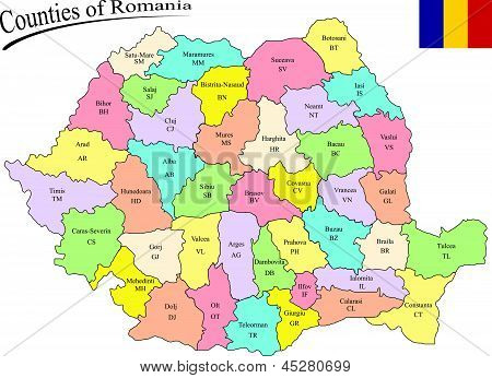 Counties Of Romania