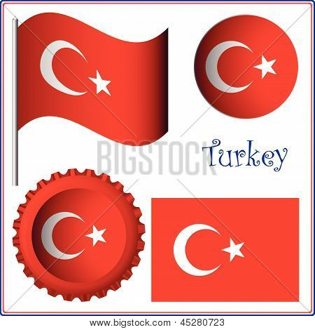 Turkey Graphic Set