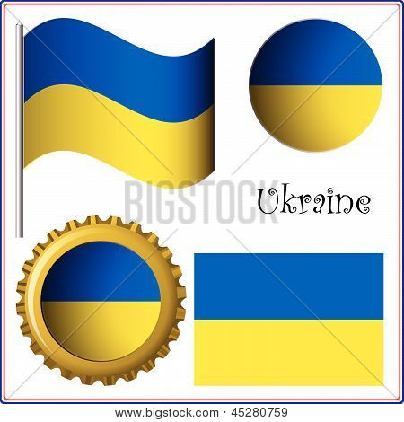 Ukraine Graphic Set