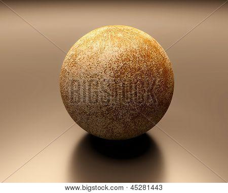 Planet Mercury Blank