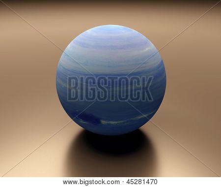 Planet Neptune Blank