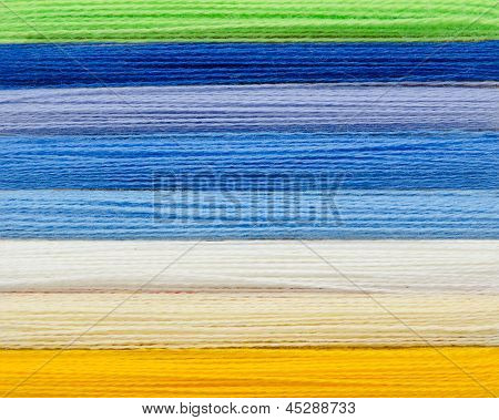 Woolen Colorful Threads