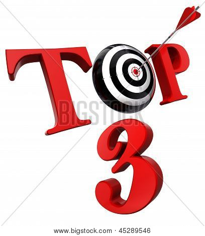 Top 3 Red Word With Target