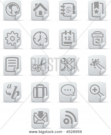 Internet Icons  Papiro Set
