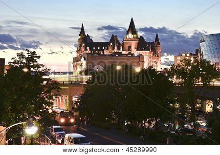 Evening Castle