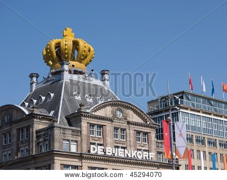 A Building In The City Of Amsterdam Has Been Crowned During Inauguration Of King Willem-alexander