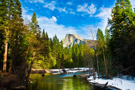 picture of granite dome  - Half Dome Rock  - JPG
