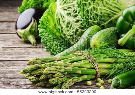 Green Organic Vegetables