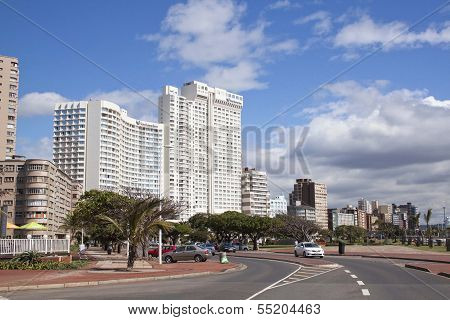 Residential Complexes Along Durbans Golden Mile Beachfront