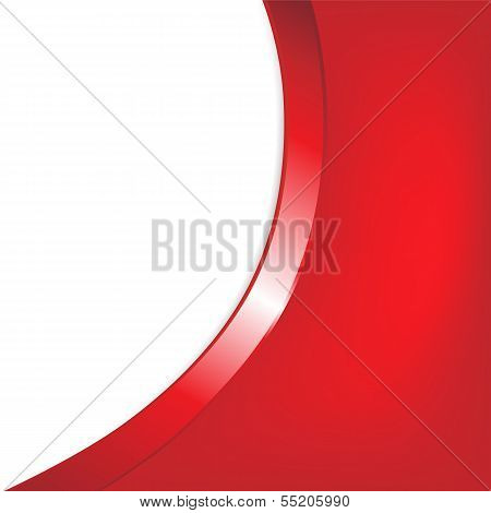 red abstract magic background
