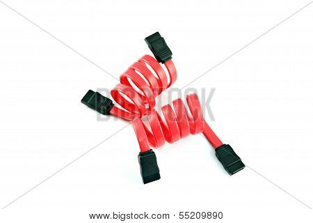 Red Sata Cable.