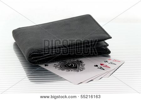 Purse Playing Cards