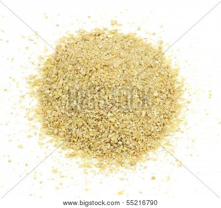 Soybean Meal Pile From Above