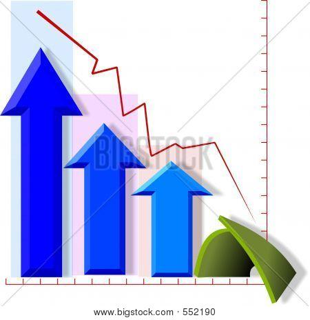 Graph Of A Bad 4th Quarter