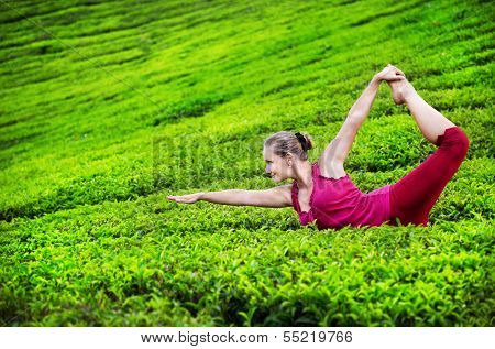 Yoga On Tea Plantations