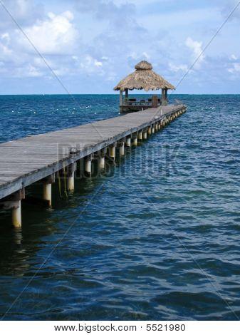Jetty At Ambergris Caye