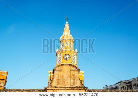 Clock Tower Of Cartagena