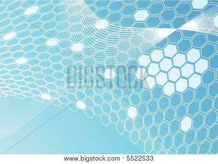 Honeycomb Banner Template