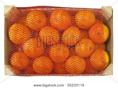box of fresh clementines