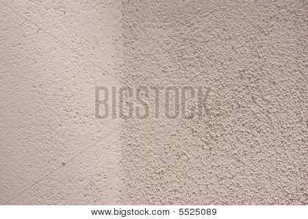 Pink Stucco Wall