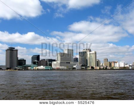 New Orleans Louisiana Downtown Skyline Cityscape