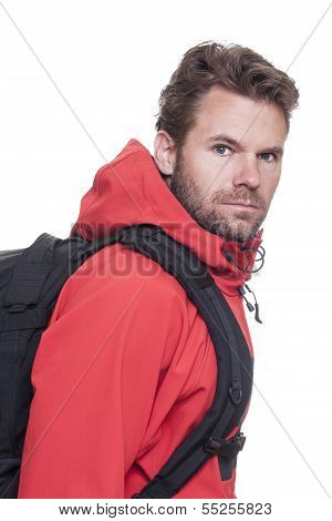 Man Hiking