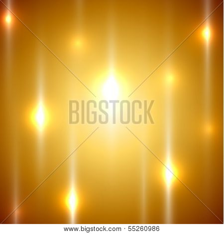 Golden ligths abstract background - eps10