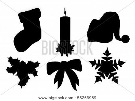 Christmas Silhouettes 1