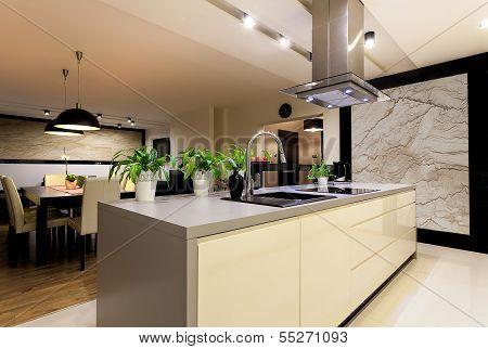 Urban Apartment - Kitchen