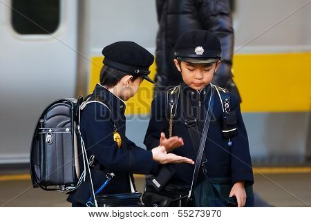 Young Japanese Students