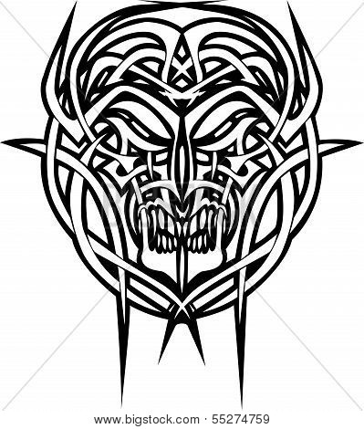 tattoo daemon face