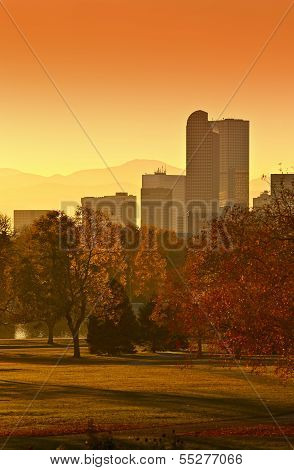 Sunny Denver Sunset