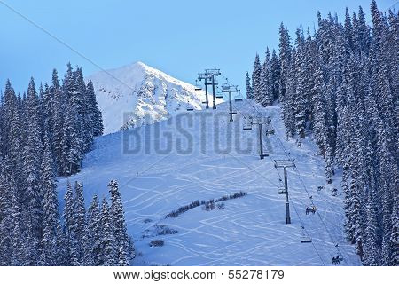 Ski Slopes Colorado
