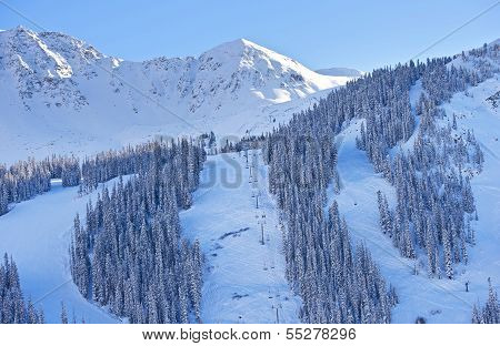 Mountain Ski Slopes