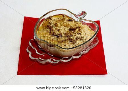 Delicious bowl of hummus