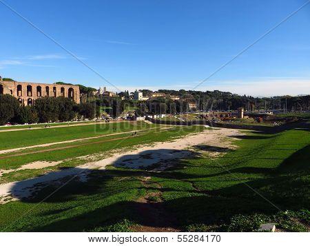 The Circus Maximus In Rome