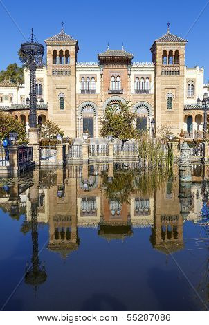 Museum Of Popular Arts Of Seville, Spain