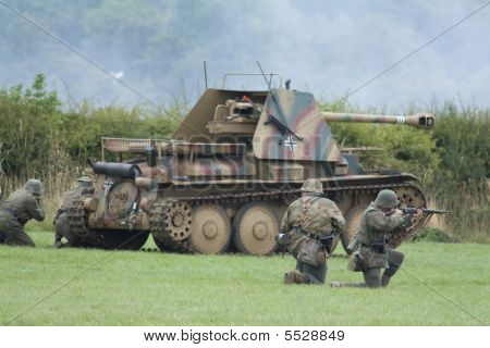 Wasp Self Propelled Gun