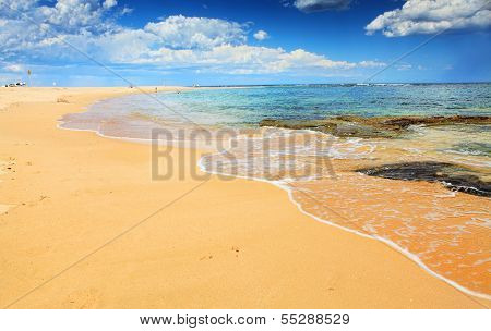 Beautiful Australian Beach In Summer