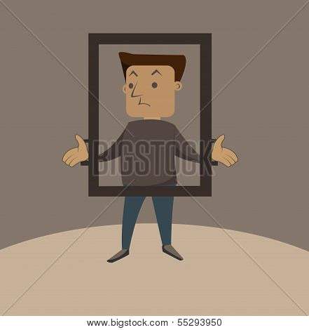 Man In The Frame
