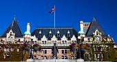 Historic Empress Hotel Victoria British Columbia Canada