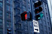 foto of light-pole  - City Traffic Lights - JPG