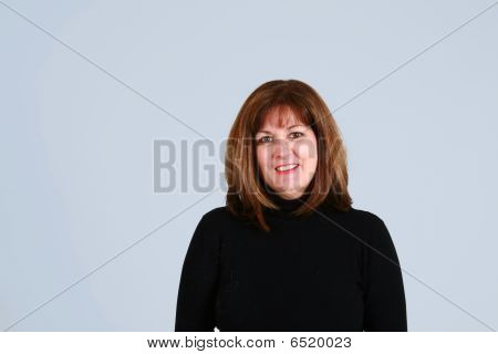Headshot Of Mature Woman