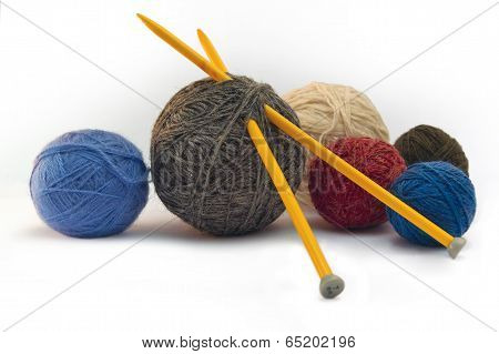Knitting, Threads